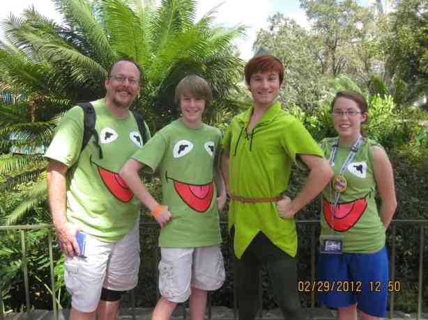 Peter Pan - Adventureland 2012 Leap Day