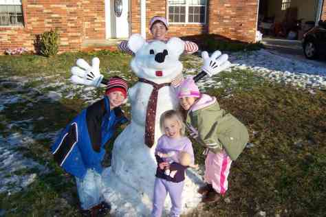 Mickey Mouse, Snowman