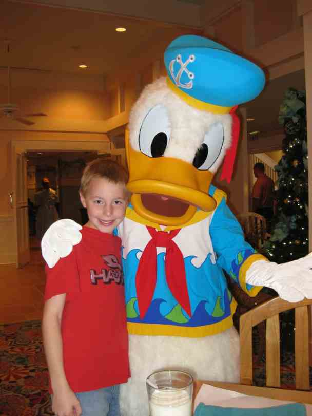 Donald at Cape May Cafe Breakfast