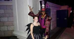 Dr Facillier aka Shadowman at Mickey's Not So Scary Halloween Party 2012
