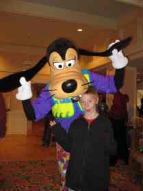 Goofy at Cape May Cafe Breakfast