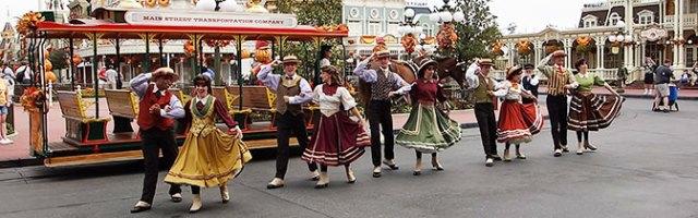 Main Street Trolley Party at Magic Kingdom