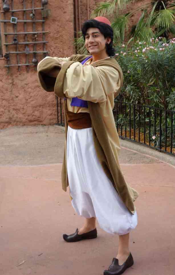 Aladdin at Morocco in EPCOT 2013