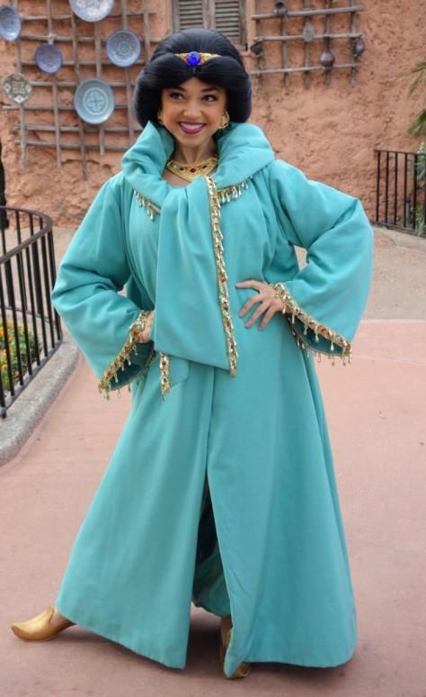 Jasmine at Morocco in EPCOT 2013
