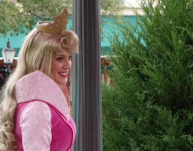 Aurora (Sleeping Beauty) in France at Epcot 2013