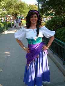 Esmeralda at Disney World