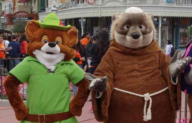 Robin Hood and Friar Tuck