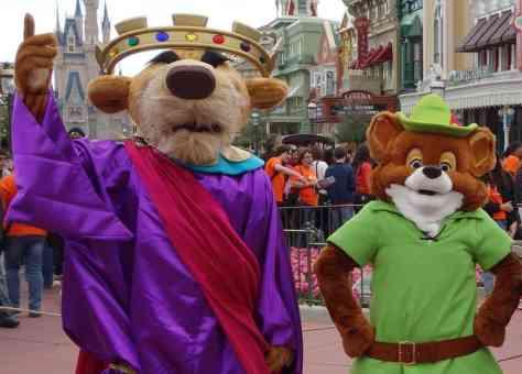 Prince John and Robin Hood