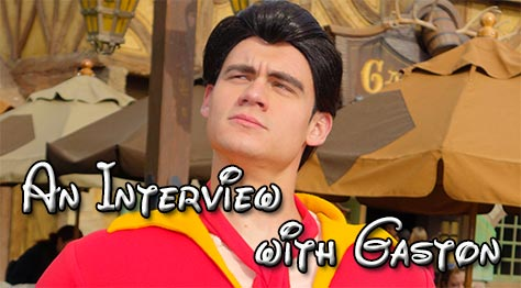 Tips for meeting Gaston in Disney World l kennythepirate.com