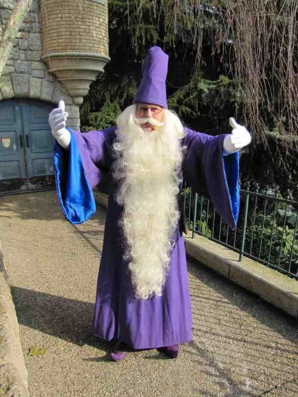 Disneyland Paris, Characters, Merlin, Meet and Greet