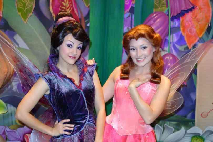 Vidia and Rosetta at Magic Kingdom 2013