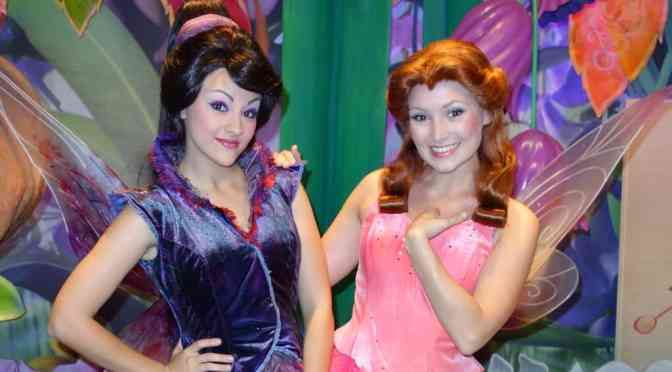 Vidia and Rosetta at Magic Kingdom 2013
