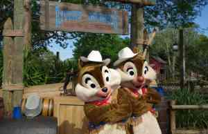 Cowboy Chip n Dale Frontierland Magic Kingdom 2013