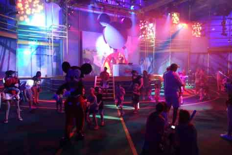 Conga Line Disney Jr Dance Party Hollywood Studios