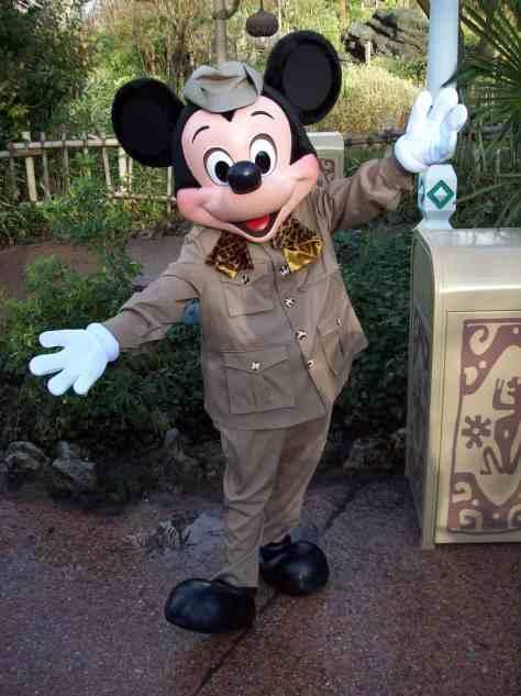 Jungle Cruise Mickey Mouse at Disneyland Paris