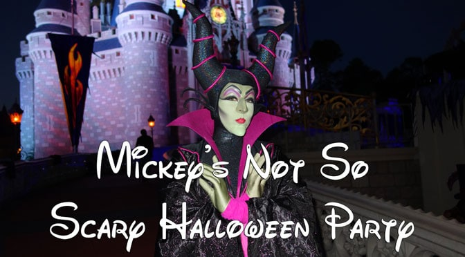 2019 Mickey's Not So Scary Halloween Party Tickets are now on sale!