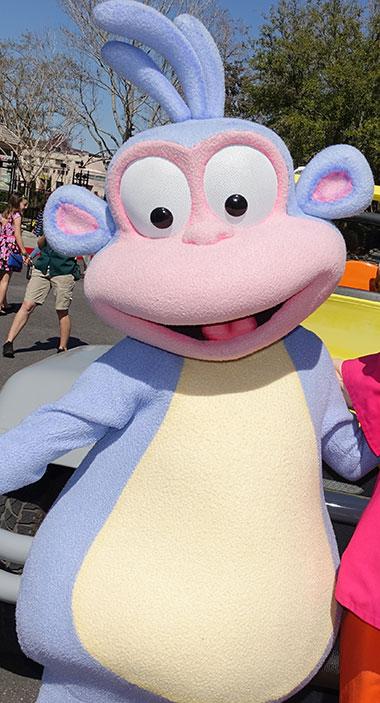Boots meet and greet at Universal Studios Florida