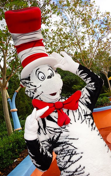 Cat in the Hat Universal Orlando Islands of Adventure Characters