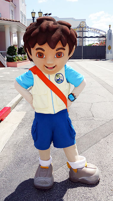 Diego Marques meet and greet Universal Orlando