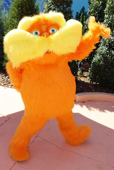 Lorax Universal Orlando Studios Characters