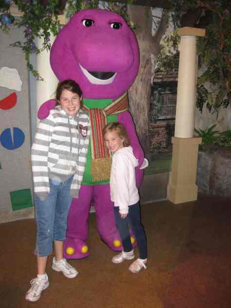 Barney Universal Studios Orlando 2009
