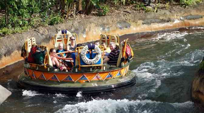 Kali River Rapids set to test a single rider option