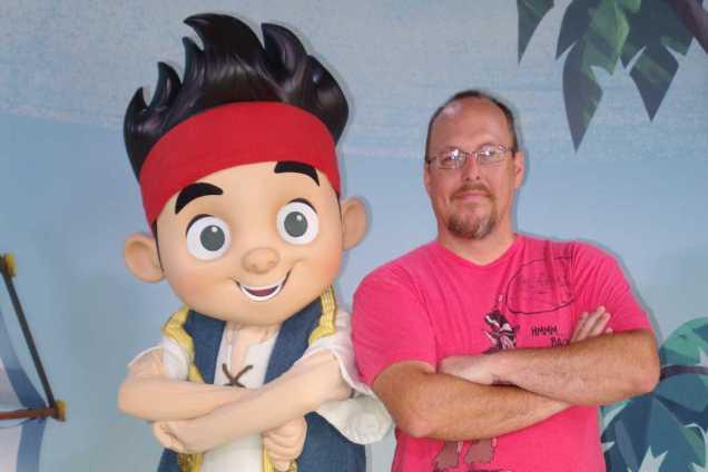 Jake and the Neverland Pirates Disney Hollywood Studios 2013
