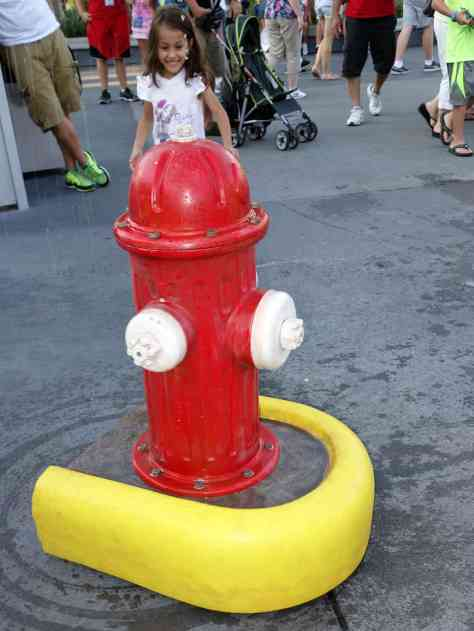 Squirt the Fire Hydrant Dog Days of Summer 2013