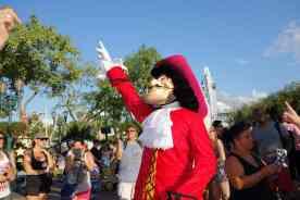 Captain Hook Hollywood Studios Character Dance Jam 2013