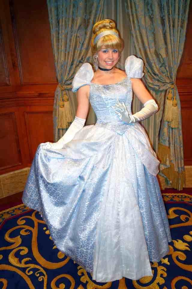 Cinderella at Princess Fairytale Hall in Magic Kingdom at Disney World