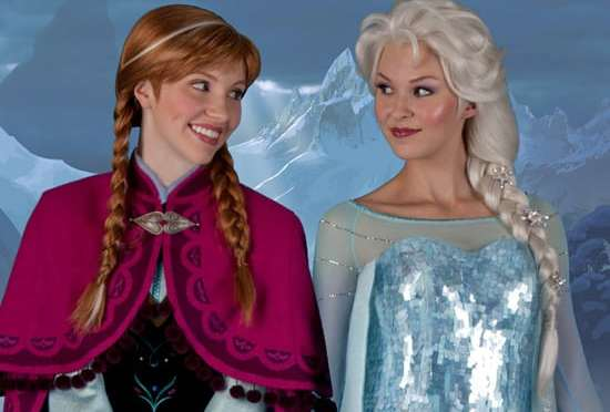 Anna and Elsa from Frozen to receive a new meet and greet area