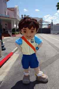 Universal Studios Orlando Dora and Diego Meet and Greet (6)