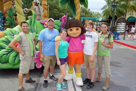 Universal Studios Orlando Dora Meet and Greet (4)