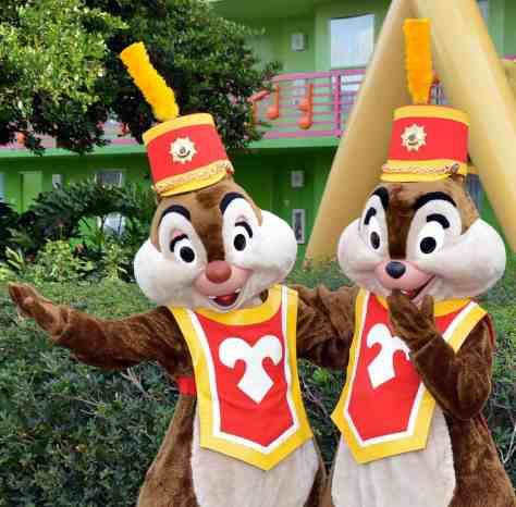 Walt Disney World, Character Meet and Greet, Halloween, All Star Music, Chip n Dale