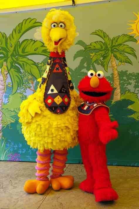 Busch Gardens Tampa Sesame Street Characters  Big Bird Elmo
