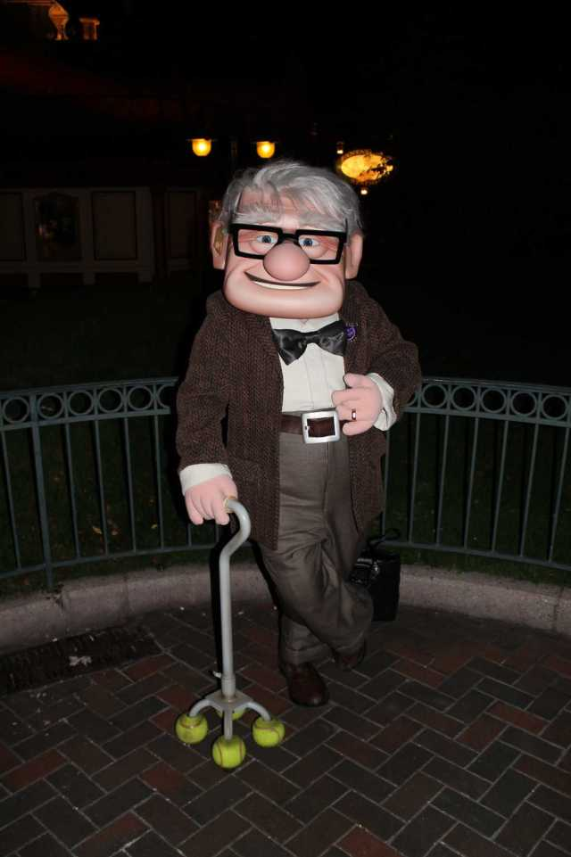 Disneyland Paris, Characters, Halloween, Carl Fredrickson