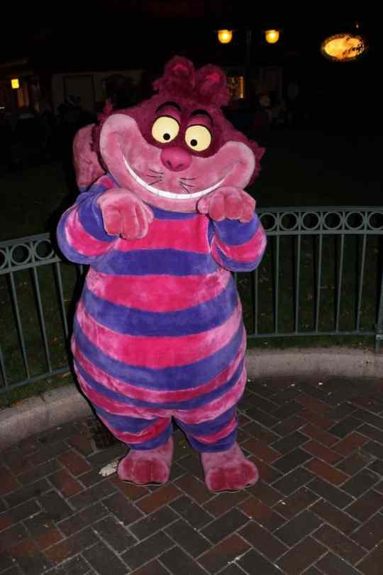 Disneyland Paris, Characters, Halloween, Cheshire Cat