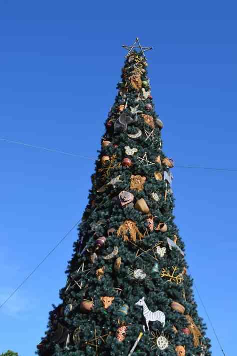 Walt Disney World, Animal Kingdom, Christmas 2013, Christmas Tree