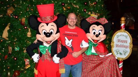 Walt Disney World Animal Kingdom Lodge Jambo House Christmas Characters Mickey and Minnie Kenny the Pirate