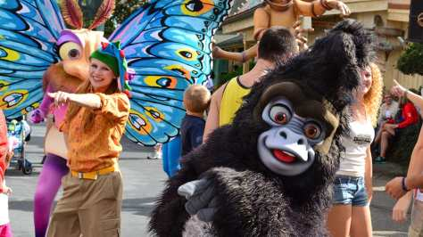 Walt Disney World, Disney's Animal Kingdom, Dinoland Dance Party, Terk