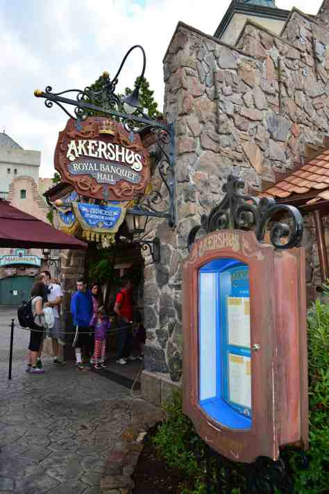 Walt Disney World Epcot Akershus Royal Dining Princess Character Meal (1)