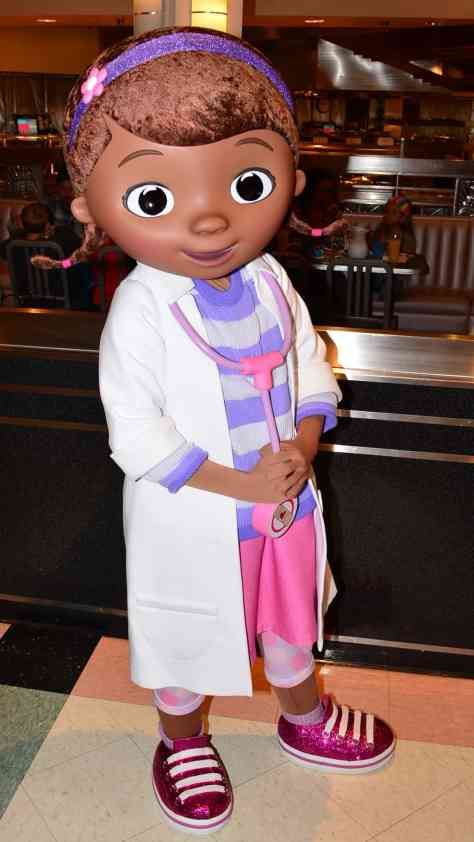 Walt Disney World, Hollywood and Vine, Character Meal, Doc McStuffins