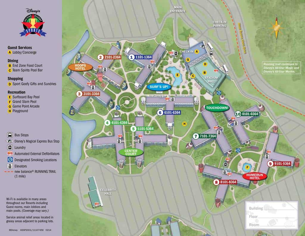 all star sports resort map design templates rh drprofile co