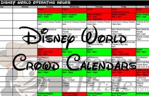 Disney World Crowd Calendar and Park Hours 2018 and 2019