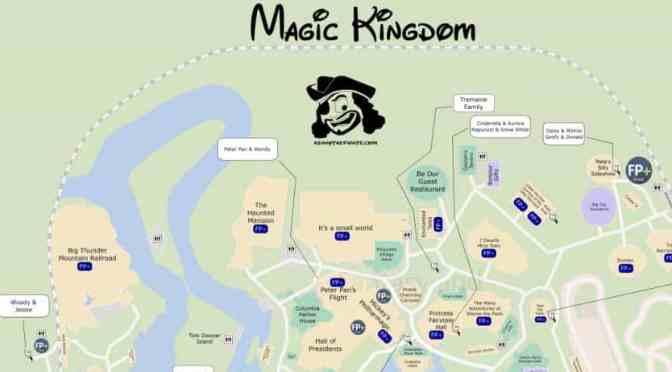 Magic kingdom map sciox Gallery