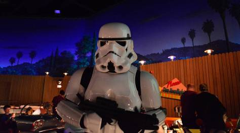 Stormtrooper Star Wars Galactic Dine-in Character Breakfast at Hollywood Studios