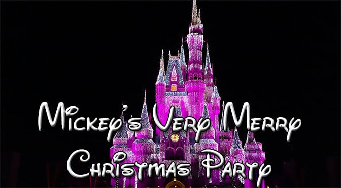 Opening Night of Mickey's Very Merry Christmas Party Sold Out