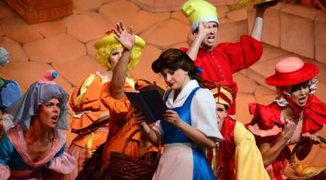 7-18 belle and the townspeople