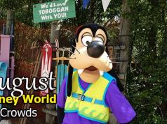 Disney World Crowd Calendar August 2020