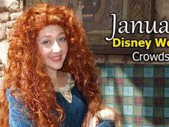 January 2020 Disney World Crowd Calendar